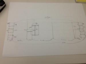 아이폰5 종이 거치대 설계 과정